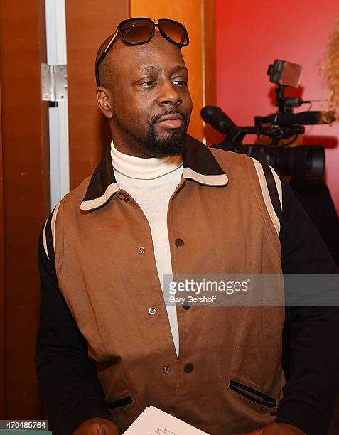 Wyclef Jean attends The 7th Annual Shorty Awards on April 20 2015 in New York City