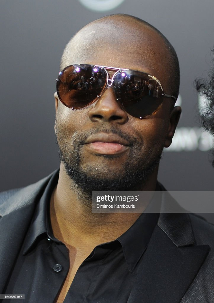 <a gi-track='captionPersonalityLinkClicked' href=/galleries/search?phrase=Wyclef+Jean&family=editorial&specificpeople=171115 ng-click='$event.stopPropagation()'>Wyclef Jean</a> attends the 'After Earth' premiere at the Ziegfeld Theater on May 29, 2013 in New York City.