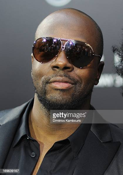 Wyclef Jean attends the 'After Earth' premiere at the Ziegfeld Theater on May 29 2013 in New York City