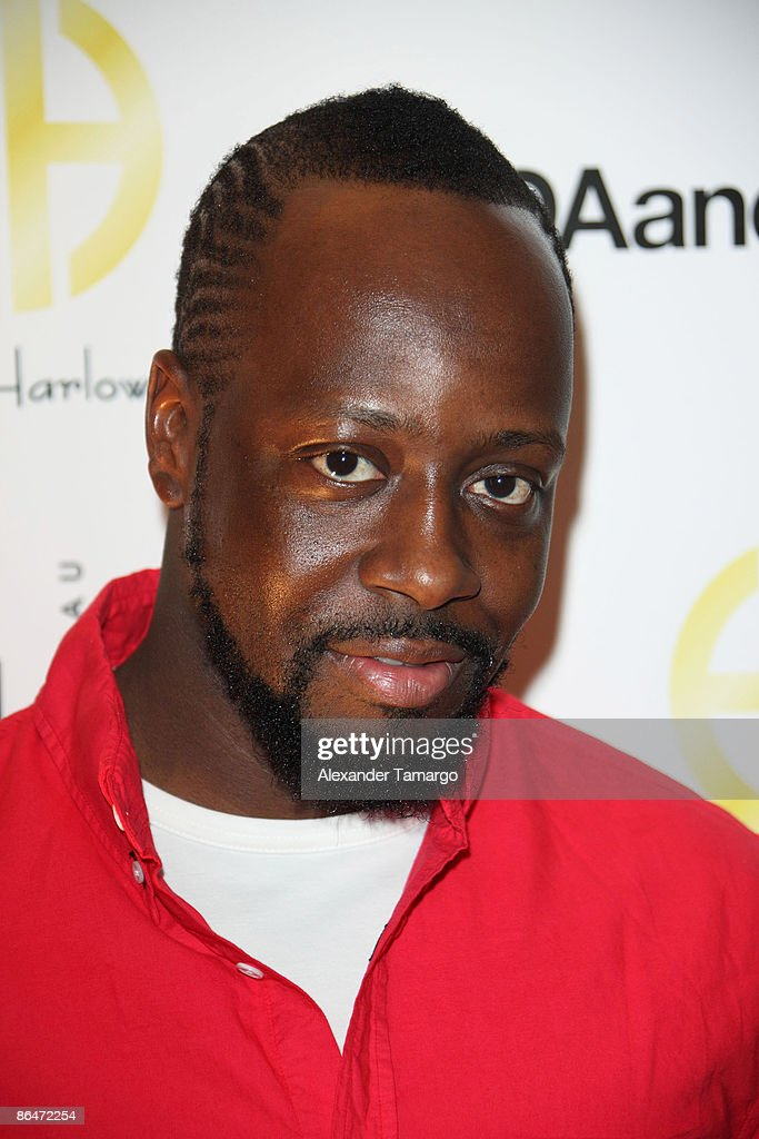 Wyclef Jean attends the launch of House of Harlow 1960 Jewelry Collection at Ida and Harry at Fontainebleau Miami Beach on May 6, 2009 in Miami Beach, Florida.
