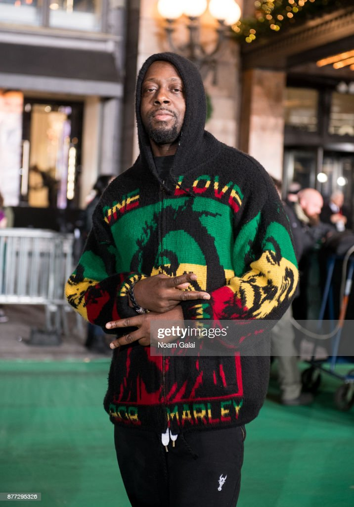 Wyclef Jean attends the rehearsals for the 91st Annual Macy's Thanksgiving Day Parade on November 21, 2017 in New York City.