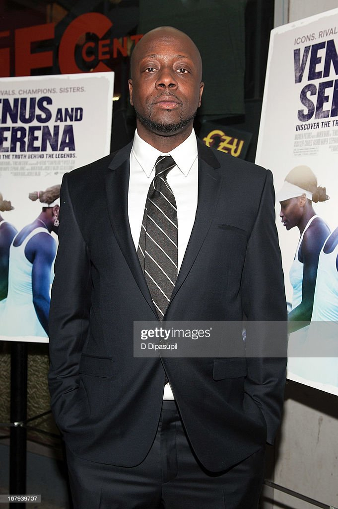 <a gi-track='captionPersonalityLinkClicked' href=/galleries/search?phrase=Wyclef+Jean&family=editorial&specificpeople=171115 ng-click='$event.stopPropagation()'>Wyclef Jean</a> attends the 'Venus And Serena' screening at IFC Center on May 2, 2013 in New York City.
