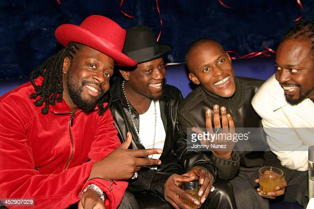 Wyclef Jean Jerry Wonder Canibus and Farel Sedeck Jean