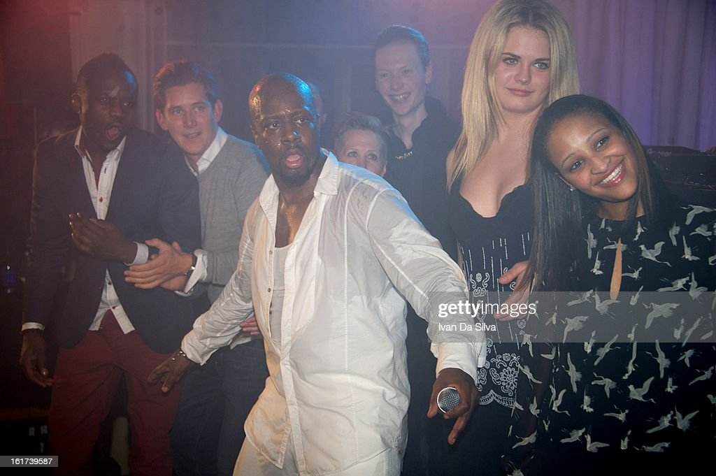 Wyclef Jean performs at Cafe Opera on February 14, 2013 in Stockholm, Sweden.