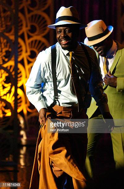 Wyclef Jean Portraits Curtis Mayfield on 'American Dreams' Which Airs On NBC ON April 4 2004