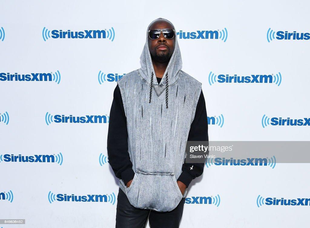 Wyclef Jean visits SiriusXM Studios on September 19, 2017 in New York City.