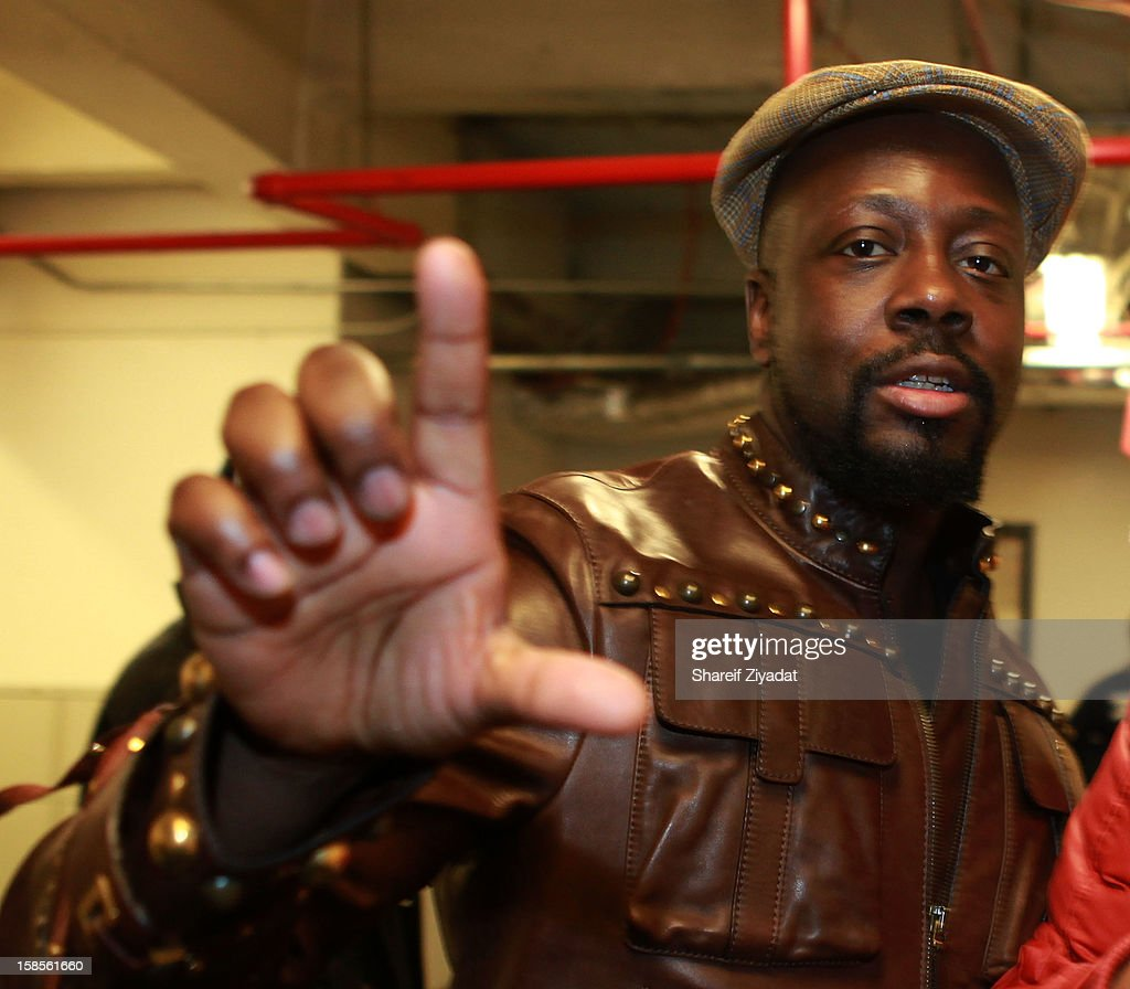 Wyclef performs in concert hosted by POWER 105.1 at Best Buy Theater on December 18, 2012 in New York City.