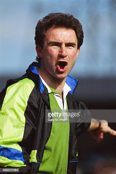 Wycombe Wanderers manager Martin O' Neill reacts during a match between Wycombe Wanderers and Bath City in April 1992 O' Neill mananged Wycombe from...