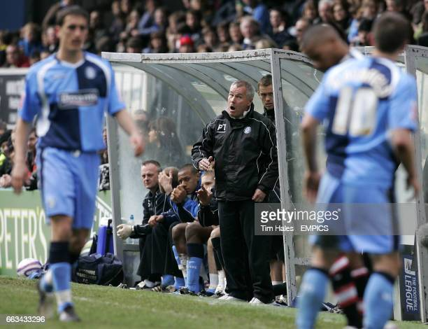 Wycombe Wanderers' manager Peter Taylor