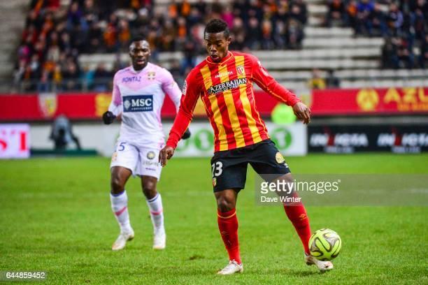 Wylan CYPRIEN Lens / Evian Thonon 25eme journee de Ligue 1 Photo Dave Winter / Icon Sport