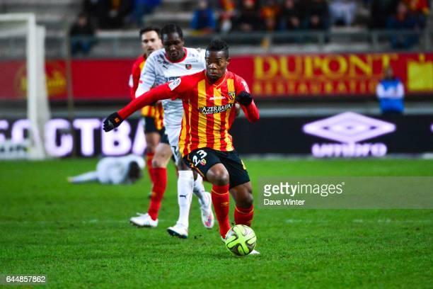 Wylan CYPRIEN Lens / Rennes 27eme journee de Ligue 1 Photo Dave Winter / Icon Sport