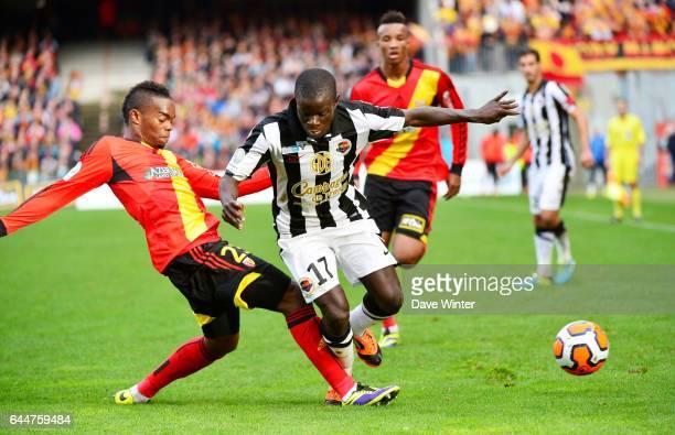Wylan CYPRIEN / Ngolo KANTE Lens / Caen 13eme journee de Ligue 2 Photo Dave Winter / Icon Sport