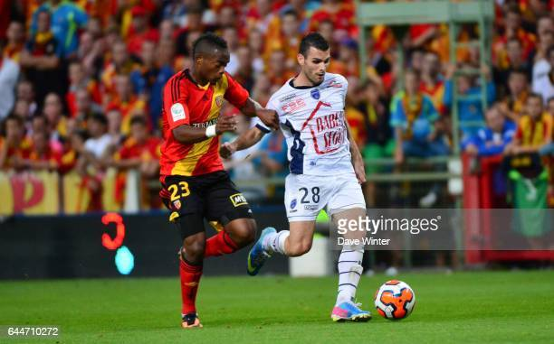 Wylan CYPRIEN / Yoann COURT Lens / Troyes 5e journee Ligue 2 Photo Dave Winter / Icon Sport