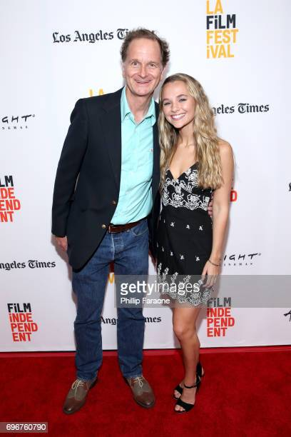 Wynn Reichert and Madison Iseman attend the 'Beauty Mark' screening during 2017 Los Angeles Film Festival at Arclight Cinemas Culver City on June 16...
