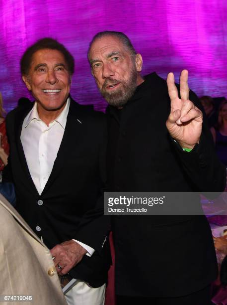 Wynn Resorts Chairman and CEO Steve Wynn and CoFounder Chairman and CEO of John Paul Mitchell Systems and CoFounder of Patron Tequila and Spirits...