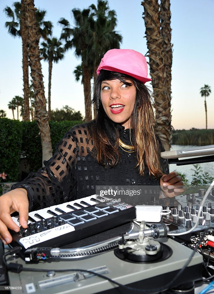 Wynne Bennett of Twin Shadow attend at the Soho House Pop Up with Bacardi during Coachella 2013 at Merv Griffin Estate on April 19, 2013 in La Quinta, California.