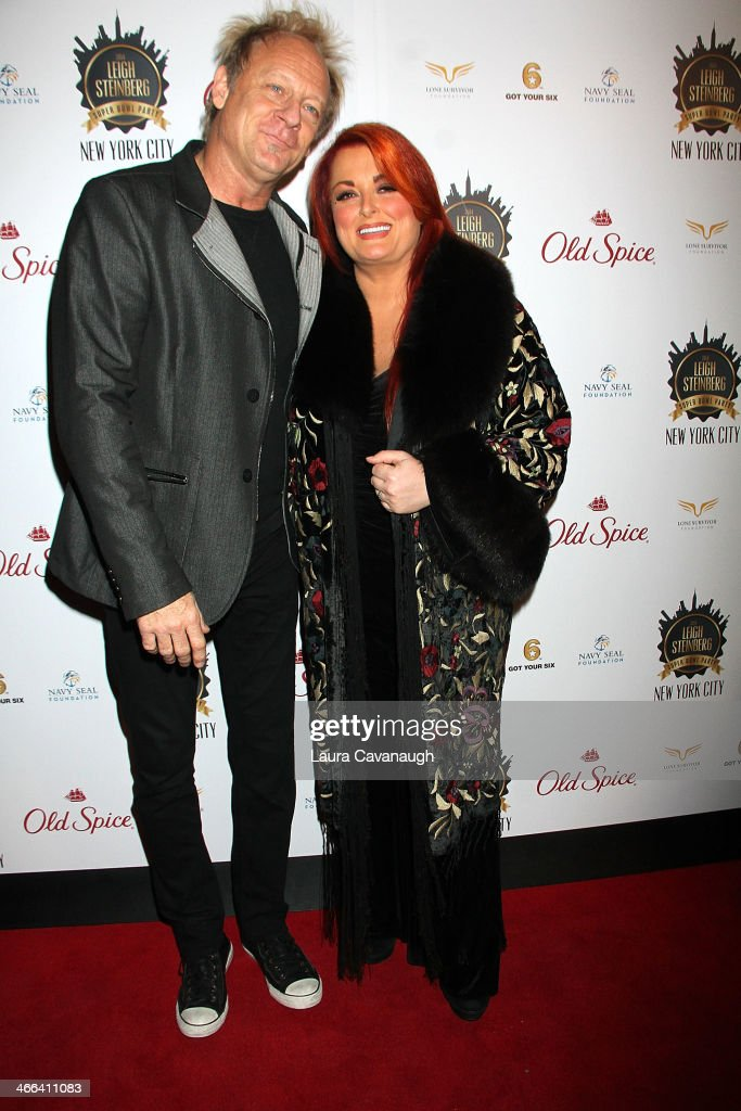 Wynonna Judd and Cactus Moser attend the 2014 Leigh Steinberg Super Bowl Party at 230 Fifth Avenue on February 1 2014 in New York City
