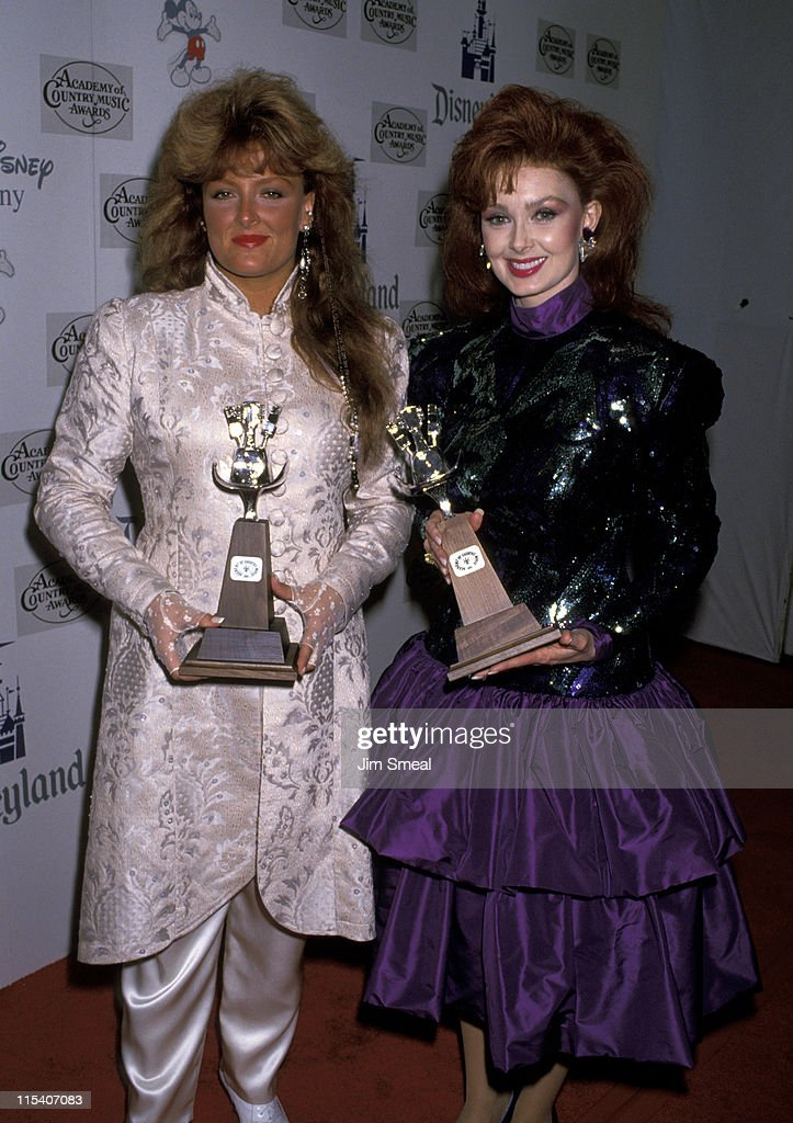 <a gi-track='captionPersonalityLinkClicked' href=/galleries/search?phrase=Wynonna+Judd&family=editorial&specificpeople=212835 ng-click='$event.stopPropagation()'>Wynonna Judd</a> and <a gi-track='captionPersonalityLinkClicked' href=/galleries/search?phrase=Naomi+Judd&family=editorial&specificpeople=206795 ng-click='$event.stopPropagation()'>Naomi Judd</a> during 34th Annual Academy of Country Music Awards at Universal Ampitheater in Universal City, California, United States.