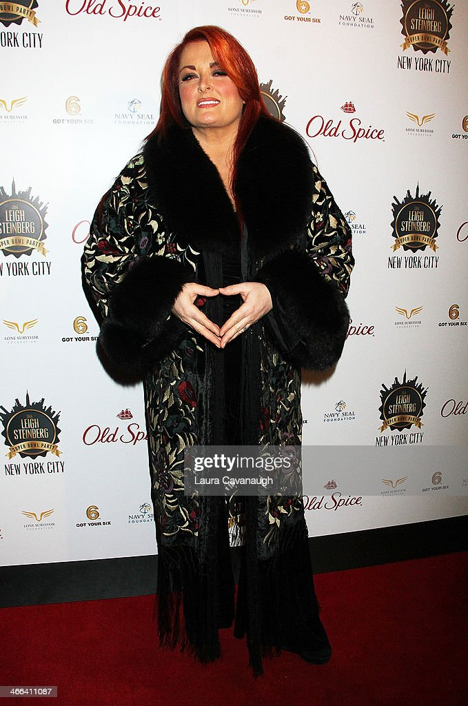 <a gi-track='captionPersonalityLinkClicked' href=/galleries/search?phrase=Wynonna+Judd&family=editorial&specificpeople=212835 ng-click='$event.stopPropagation()'>Wynonna Judd</a> attends the 2014 Leigh Steinberg Super Bowl Party at 230 Fifth Avenue on February 1, 2014 in New York City.