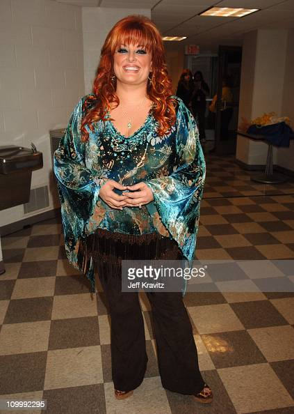 Wynonna Judd during 2006 CMT Music Awards Backstage and Audience at Curb Events Center at Belmont University in Nashville Tennessee United States