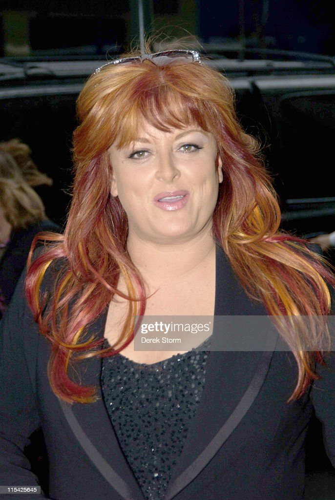 Wynonna Judd during Wynonna Judd and Jane Seymour Arrive at the WB11 Morning News Studios in New York March 14 2006 at WB11 Studios in New York City...