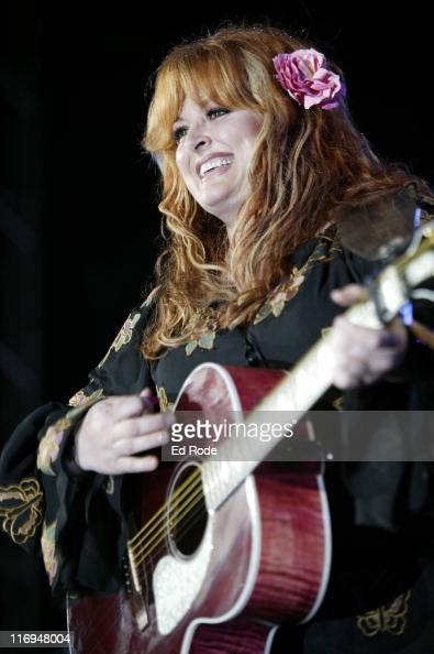 Wynonna Judd during Wynonna Judd and Naomi Judd Perform Together During Fan Fair Week at Adelphia Coliseum in Nashville Tennessee United States