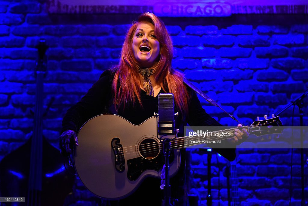 Wynonna Judd performs at City Winery Chicago on January 28 2015 in Chicago Illinois