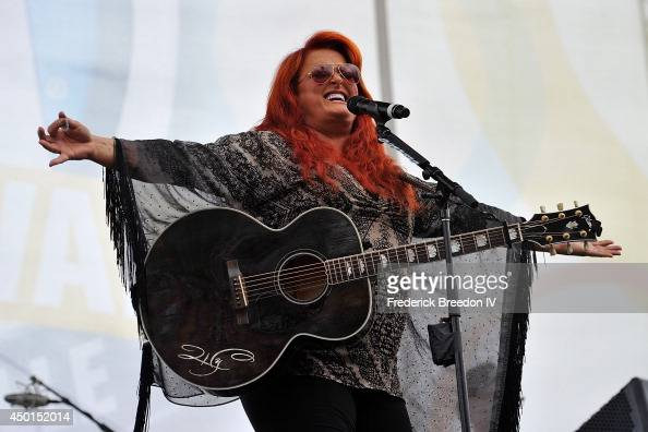 Wynonna Judd performs at the 2014 CMA Festival on June 5 2014 in Nashville Tennessee