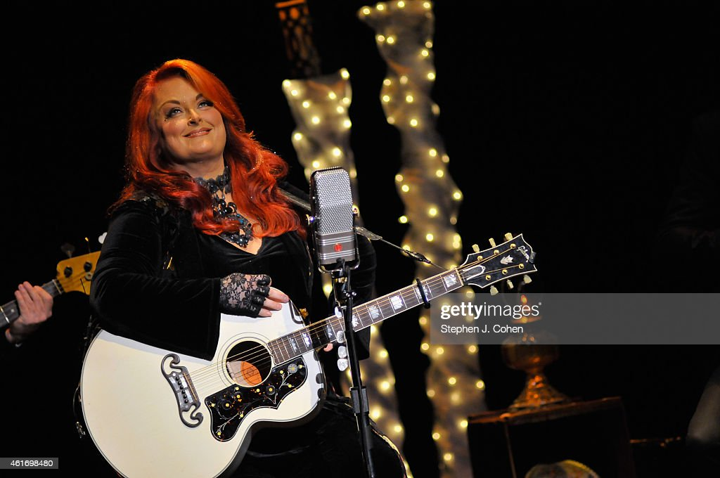 Wynonna Judd performs at the Brown Theatre on January 17 2015 in Louisville Kentucky