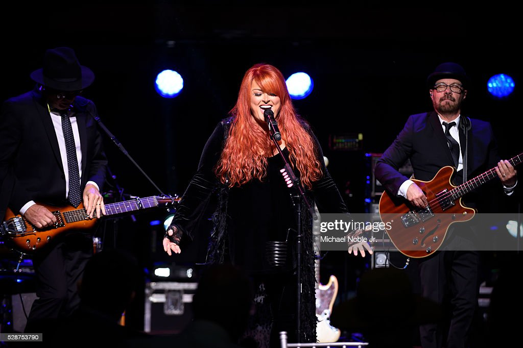 Wynonna Judd preforms at the Fillies Lilies 2016 Kentucky Derby eve party at the Kentucky Derby Museum at Churchill Downs on May 6 2016 in Louisville...