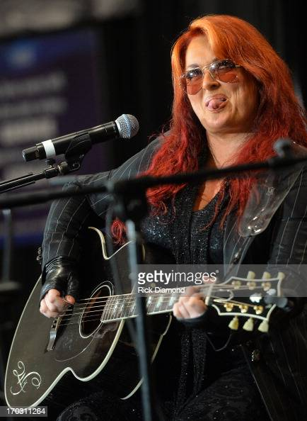 Wynonna Judd Q A performance at CMA Close Up Stage The Wy Xperience w/Wynonna at Music City Center on June 7 2013 in Nashville Tennessee