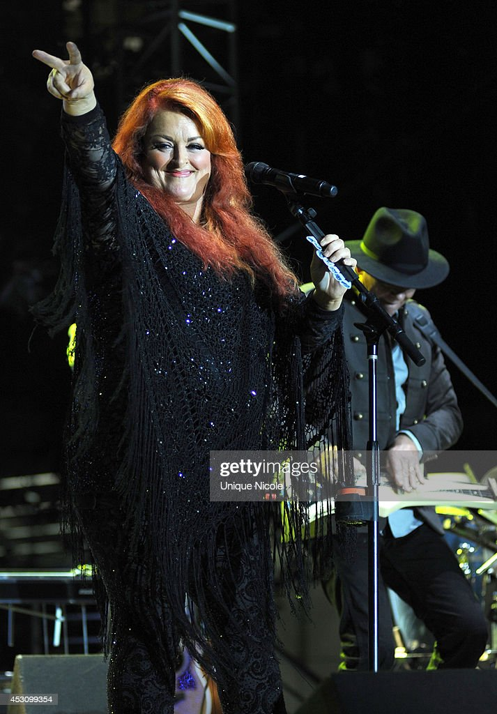Wynonna Judd The Big Noise Performs At KCRW's 'Country In The City' at Century Park on August 2 2014 in Century City California