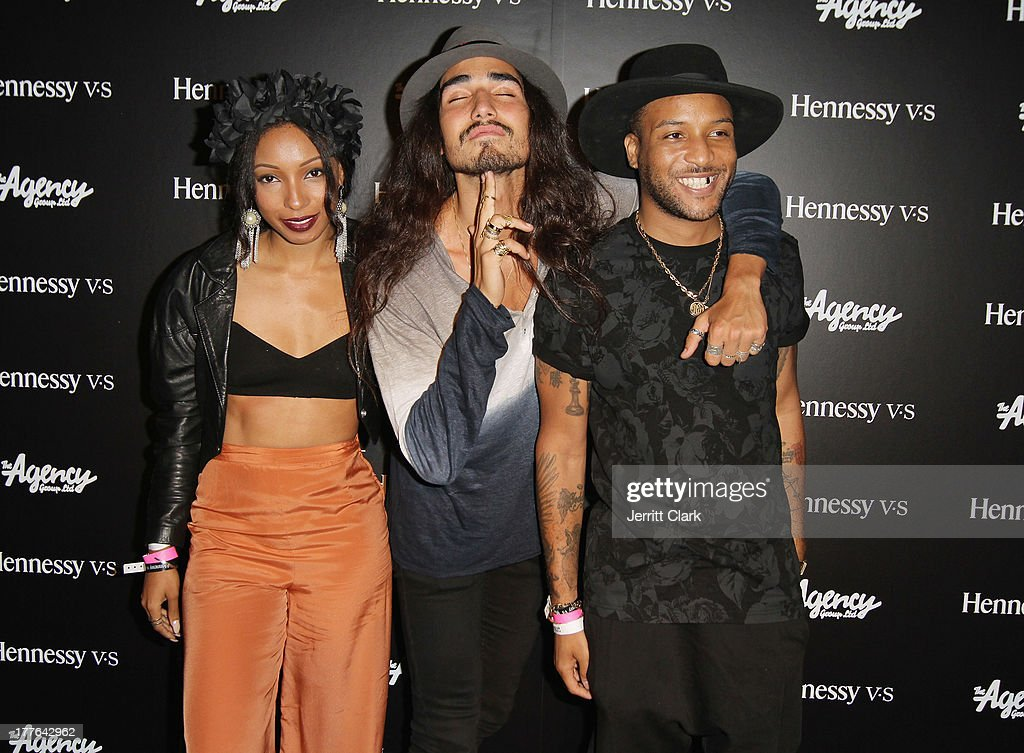 <a gi-track='captionPersonalityLinkClicked' href=/galleries/search?phrase=Wynter+Gordon&family=editorial&specificpeople=4365758 ng-click='$event.stopPropagation()'>Wynter Gordon</a>, Willy Cartier and Ro James attend the Hennessy VS VMA Celebration at Avenue on August 24, 2013 in New York City.
