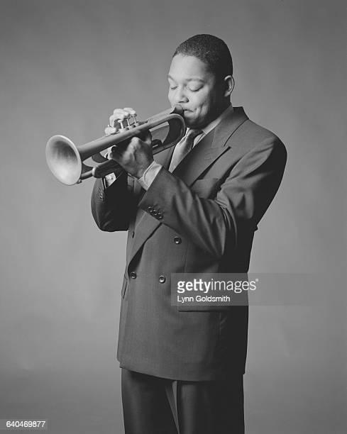 Wynton Marasalis Playing Trumpet