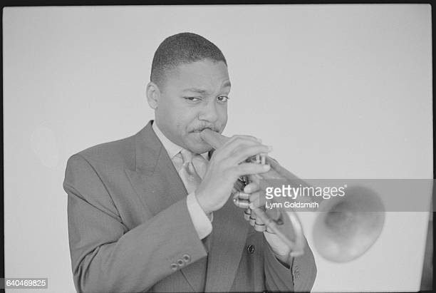 Wynton Marsalis Playing the Trumpet