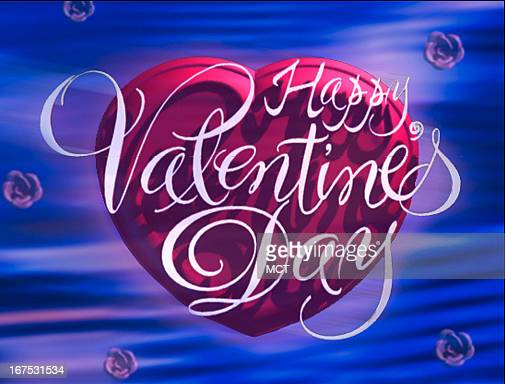 x 19 in / 52x48 mm / 177x164 pixels Image of heart with words 'Happy Valentine's Day'