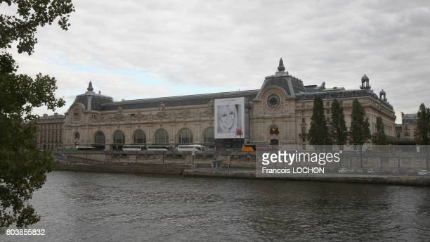 4 x 3 m poster advertising Lancel brand with an image of Brigitte Bardot on June 8 2011 in Paris France