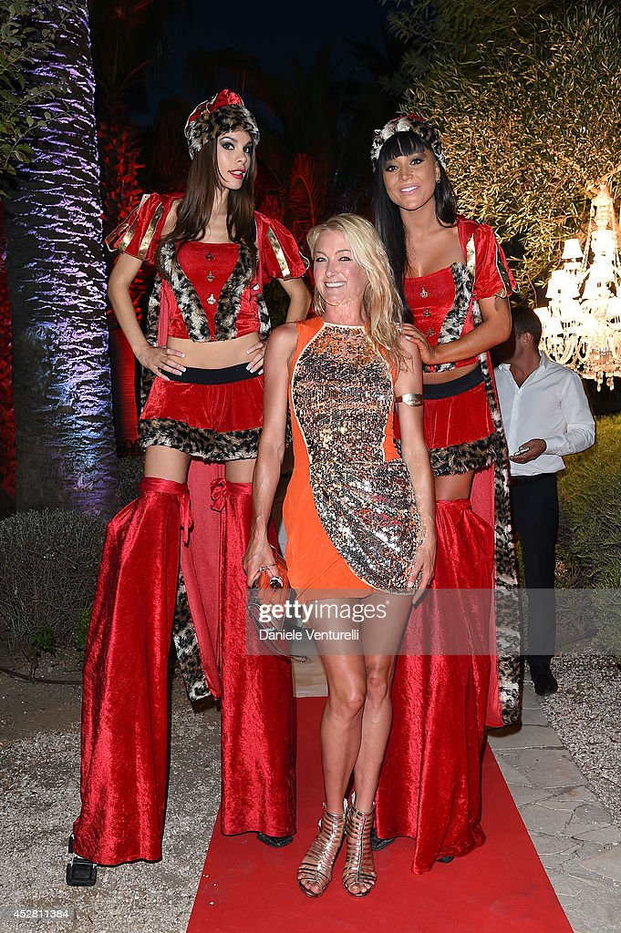 x Princess Lilly zu Sayn Wittgenstein Berleburg attends Monika Bacardi Summer Party 2014 St Tropez at Les Moulins de Ramatuelle on July 27, 2014 in Saint-Tropez, France.
