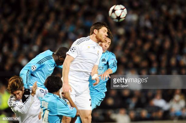 Xabi ALONSO Marseille / Real Madrid Champions League Stade Velodrome Marseille