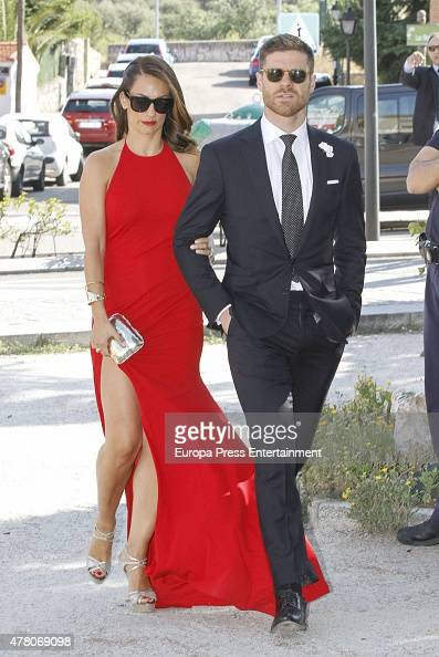 Xabi Alonso Wedding Jose Callejon and Mart...