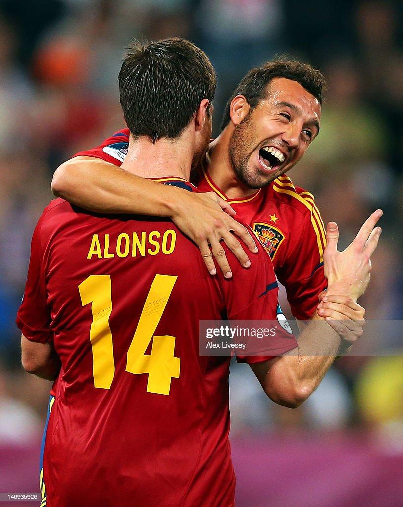 Spain v France - UEFA EURO 2012 Quarter Final
