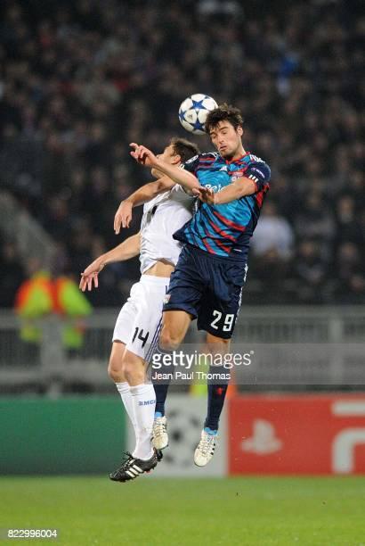 Xabi ALONSO / Yoann GOURCUFF Lyon / Real Madrid 1/8 Finale aller Champions League