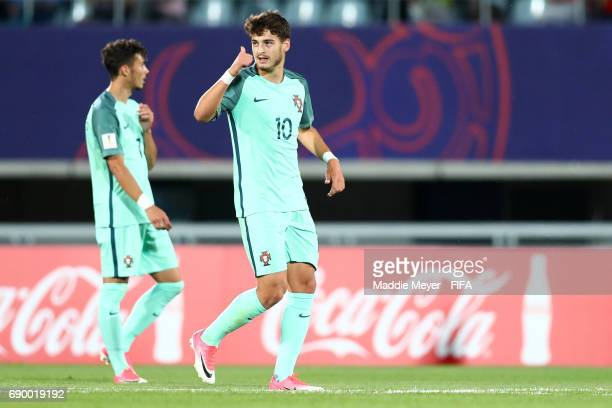 Xadas of Portugal celebrates after scoring a goal during the FIFA U20 World Cup Korea Republic 2017 Round of 16 match between Korea Republic and...