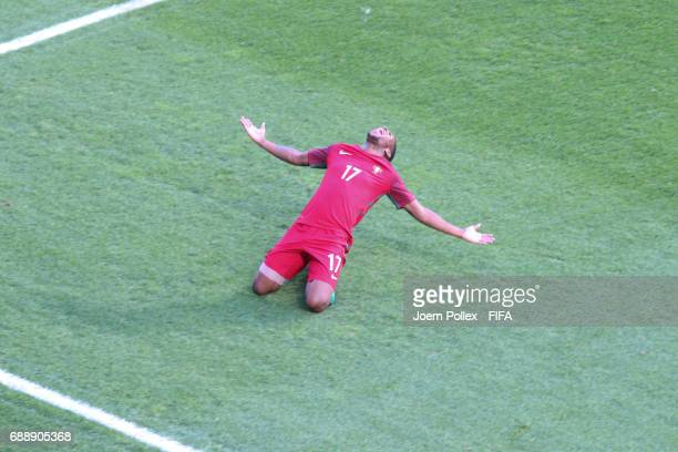 Xande Silva of Portugal celebrates after scoring the winning goal during the FIFA U20 World Cup Korea Republic 2017 group C match between Portugal...