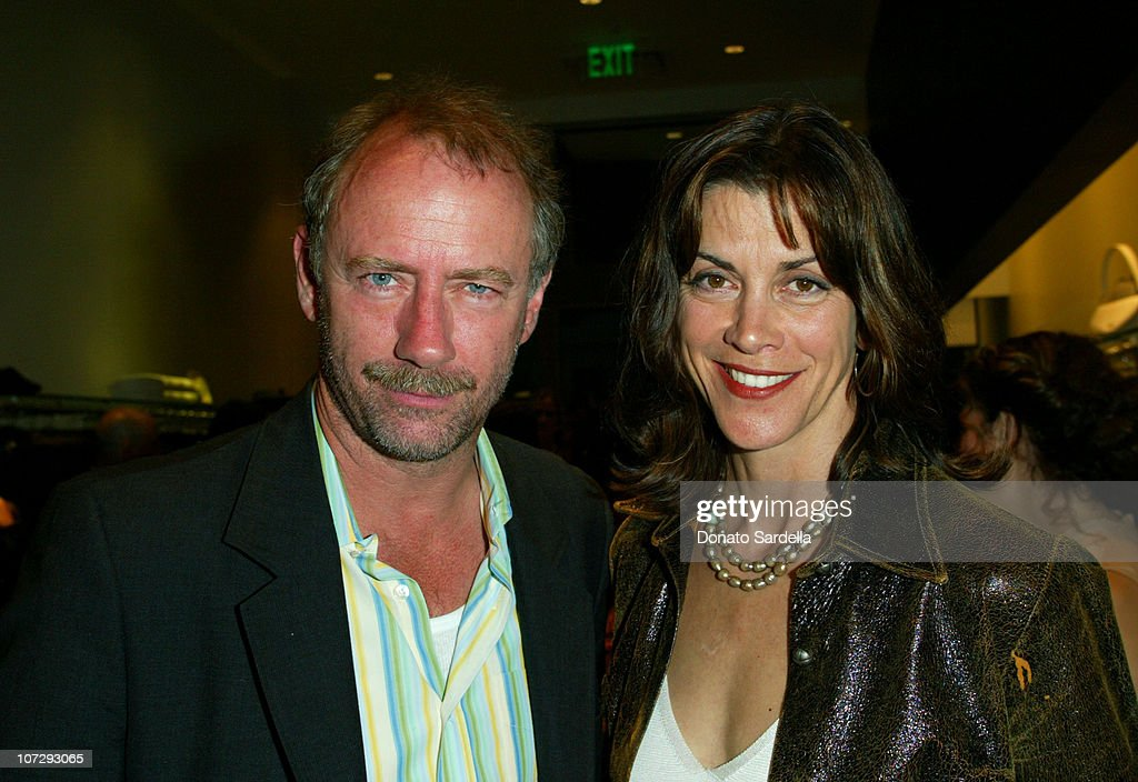 Xander Berkeley and Wendie Malick during Cerruti and David Cardona Co-Host Private Party to Celebrate the Opening of Cerruti Beverly Hills Benefiting OPCC at Cerruti Store in Beverly Hills, California, United States.