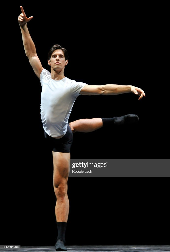 Xander Parish in the Royal Ballet's production 101 at Hull New Theatre on September 15, 2017 in Hull, England.