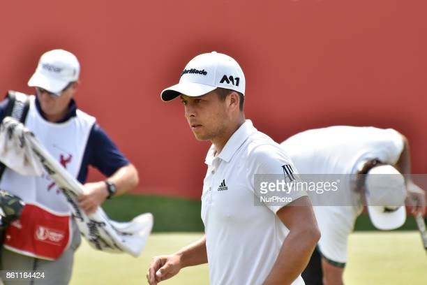 Xander Schauffele of USA in action during the CIMB Classic 2017 day 3 on October 14 2017 at TPC Kuala Lumpur Malaysia