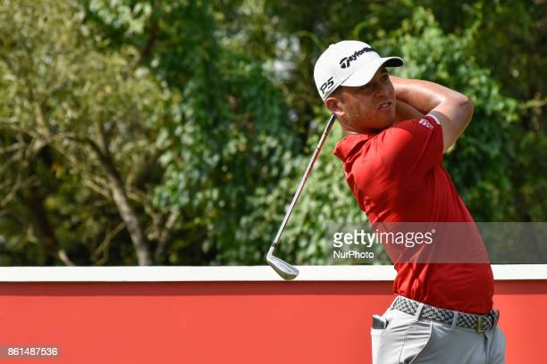 Xander Schauffele of USA in action during the CIMB Classic 2017 day 4 on October 15 2017 at TPC Kuala Lumpur Malaysia