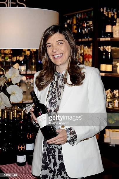 Xandra Falco Presents the new 'Gourmet Space' in the El Corte Ingles store on May 18 2010 in Madrid Spain