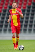 Xandro Schenk during the team presentation of Go Ahead Eagles on July 15 2016 at the Adelaarshorst Stadium in Deventer The Netherlands